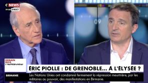 CNews : Le maire de Grenoble tacle en direct Vincent Bolloré, Jean-Pierre Elkabbach le défend