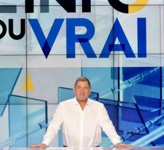 Yves Calvi dans 'L'info du vrai' sur Canal+