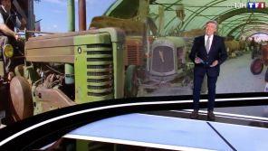 """""""13 Heures"""" de TF1 : Jacques Legros pris d'un fou rire après un sujet sur des poules"""