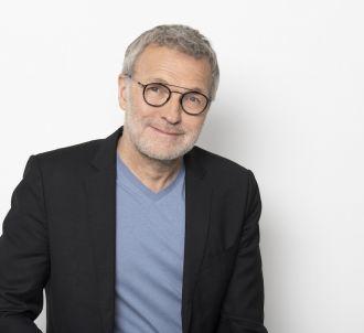 Laurent Ruquier présente 'On est en direct' sur France 2.