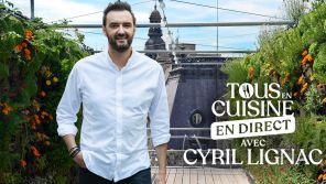 """""""Tous en cuisine"""" : Cyril Lignac ne cuisinera plus depuis chez lui pour son retour le lundi 23 août sur M6"""