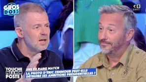 """Une sur Eric Zemmour : Eric Naulleau traite """"Paris Match"""" de """"torche-cul"""" et s'emporte face à un paparazzi"""
