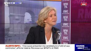 """Valérie Pécresse agacée sur BFMTV : """"Ce n'est pas Zemmour TV ! On va peut-être parler de ma candidature !"""""""
