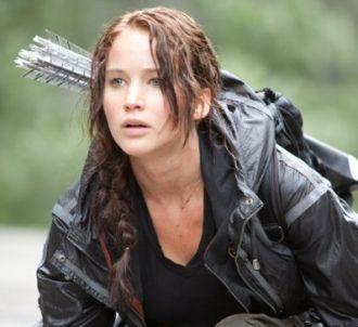 Jennifer Lawrence dans 'Hunger Games'