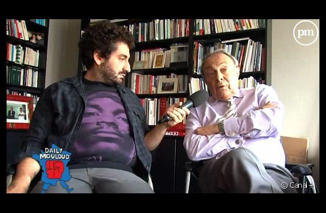 Mouloud Achour interroge Michel Rocard, le 29 août sur Canal+