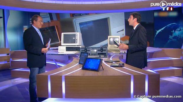 Jean-Pierre Pernaut et Fabrice Collaro, le 31 août sur TF1 - photo