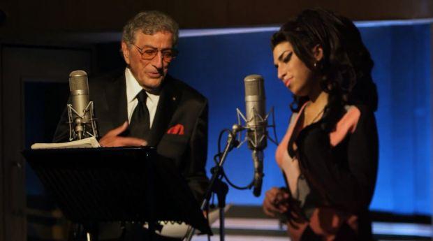 Tony Bennett et Amy Winehouse en studio