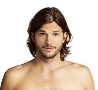 Ashton Kutcher sur une affiche promotionnelle de 'Mon...