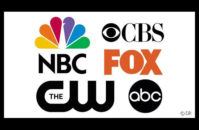 Les logos des cinq grandes chaînes américaines