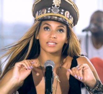 Beyoncé Knowles dans le clip de 'Love on Top'