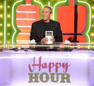 Thierry Ardisson présente 'Happy Hour'.