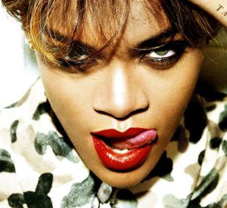 Rihanna sur la pochette de l'album 'Talk That Talk'