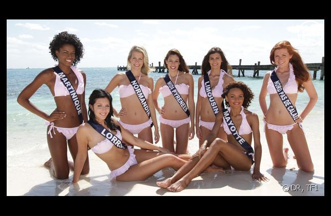L'élection de Miss france 2012.