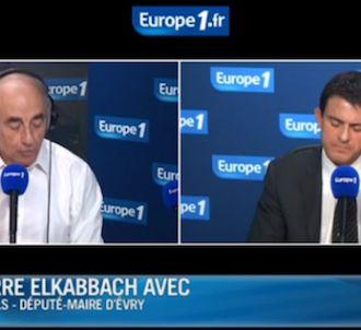 Manuel Valls tacle Jean-Pierre Elkabbach au sujet de ses...