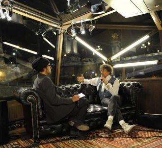 Manu Katché et Laurent Voulzy sur le plateau de 'Direct...