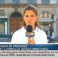 Margaux de Frouville perd ses moyens en direct