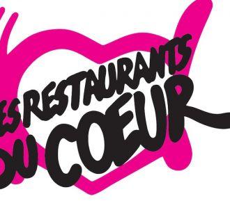 Le logo des 'Restaurants du coeur'