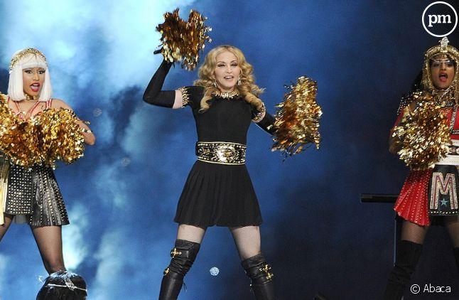 Nicki Minaj, Madonna et M.I.A. au Super Bowl 2012