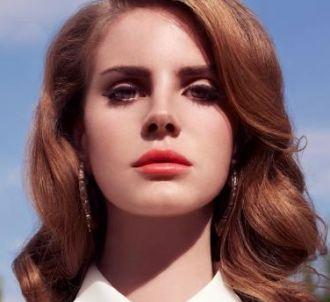 Lana Del Rey sur la pochette de l'album 'Born to Die'