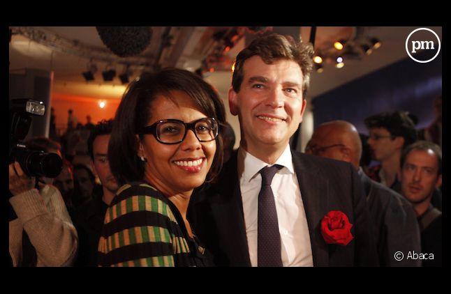 Audrey Pulvar et Arnaud Montebourg