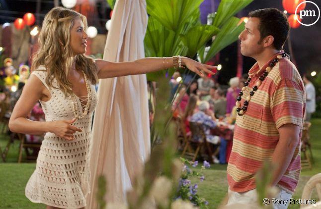 """Jennifer Aniston et Adam Sandler dans """"Le Mytho"""""""