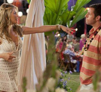 Jennifer Aniston et Adam Sandler dans 'Le Mytho'