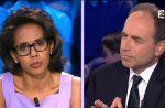 """J-F. Copé considère Audrey Puvar comme une """"militante"""" dont il rêve de """"décompter le temps de parole"""""""