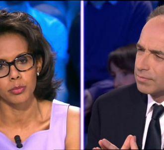 Audrey Pulvar face à Jean-François Copé.