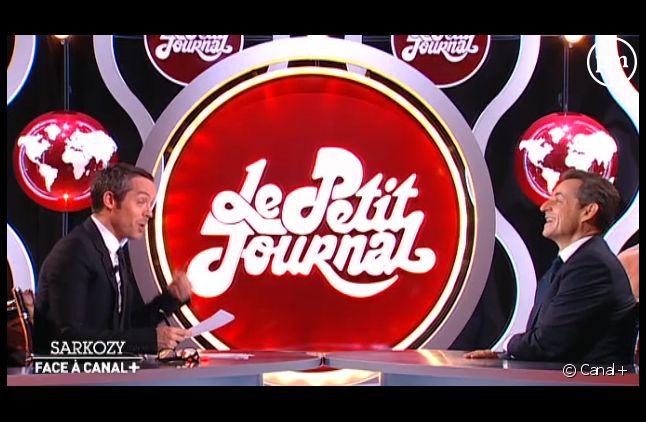 Sarkozy face à Canal+