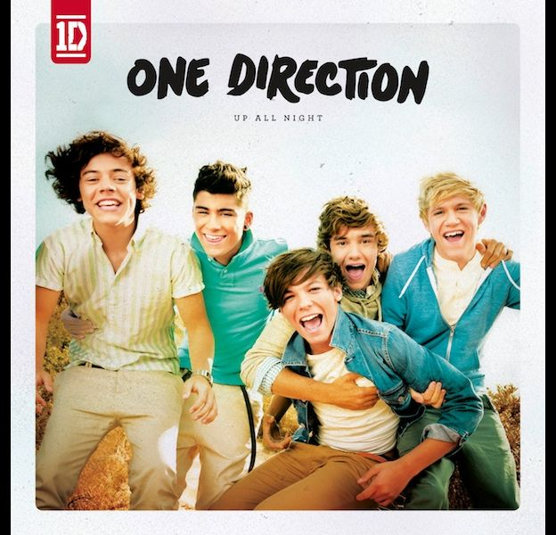 "1. One Direction - ""Up All Night"""