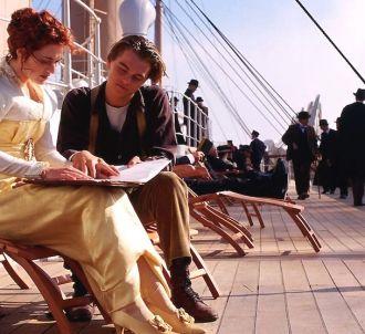 Kate Winslet et Leonardo DiCaprio dans 'Titanic'