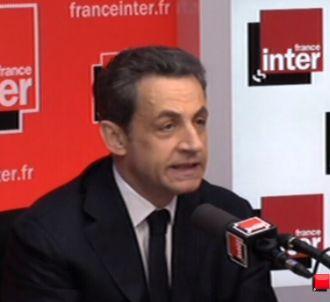 Nicolas Sarkozy sur France Inter.