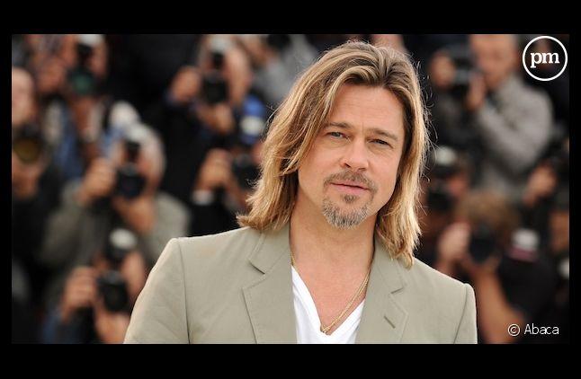 """Brad Pitt sur le photocall de """"Cogan, la Mort en douce"""""""