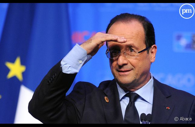 François Hollande, le 21 mai 2012 à Chicago.