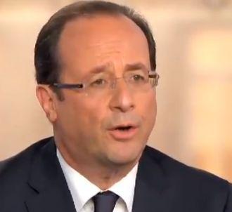 L'anaphore de François Hollande 'Moi, président'.