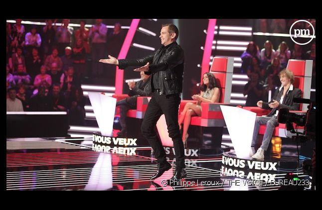 """Garou sur le plateau de """"The Voice, la plus belle voix"""""""