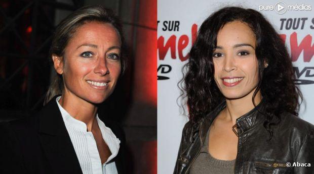 Anne-Sophie Lapix et Aïda Touihri
