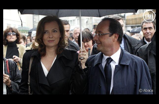 Valérie Trierweiler affiche son soutien au rival de Ségolène Royal