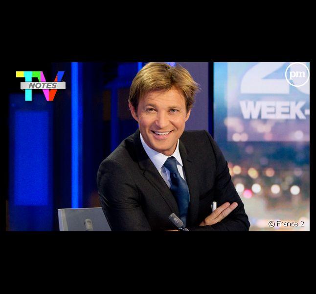 """Laurent Delahousse, élu """"Présentateur TV de la saison"""" des TV Notes 2012."""