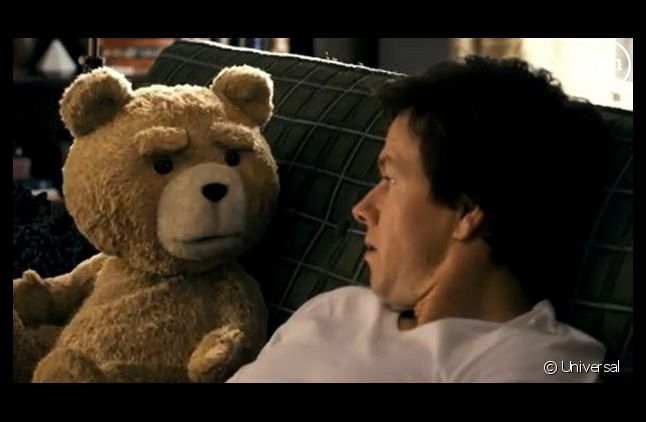 """Le film """"Ted"""" avec Mark Wahlberg"""