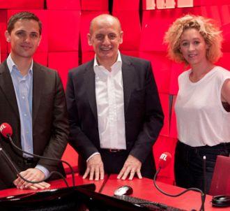 Jérôme Chapuis, Jean-Michel Aphatie et Alba Ventura.