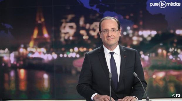 François Hollande, le 29 mai sur France 2.
