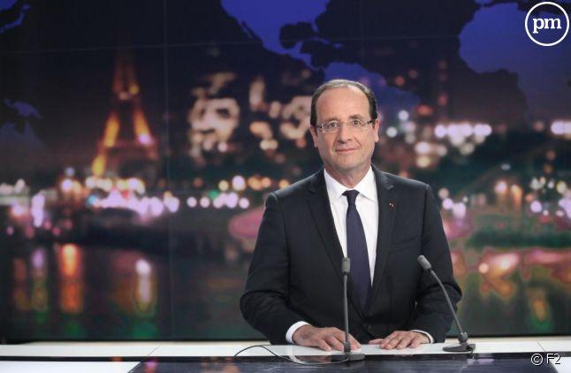François Hollande, le 29 mai sur France 2.