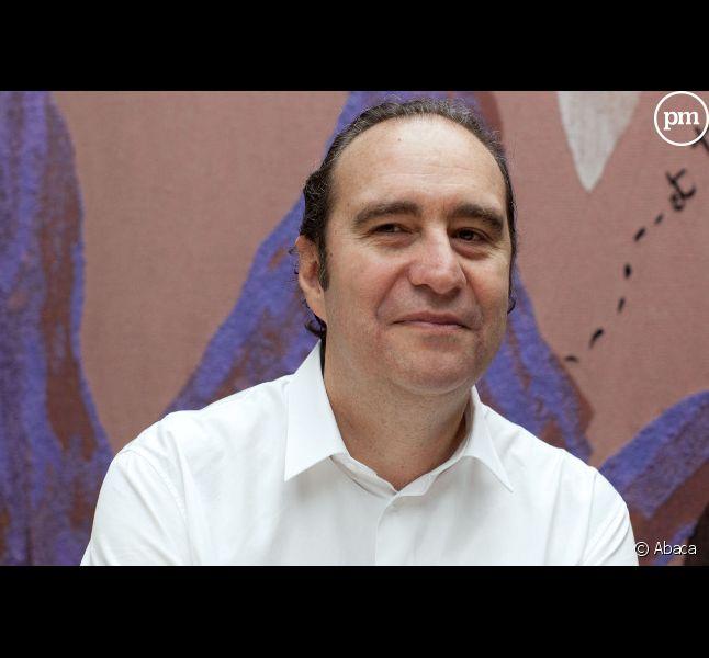 """Xavier Niel, co-actionnaire du journal """"Le Monde""""."""
