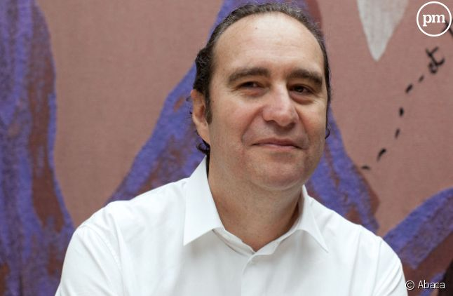 "Xavier Niel, co-actionnaire du journal ""Le Monde""."