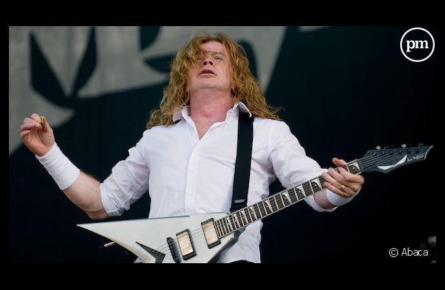 Dave Mustaine, guitariste et chanteur du groupe Megadeth
