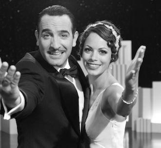 Jean Dujardin et Bérénice Bejo dans 'The Artist',...