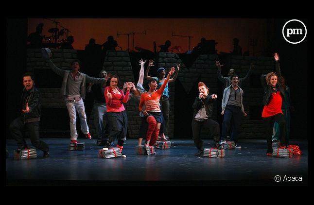 """La comédie musicale """"Fame"""" à Paris, en 2008"""