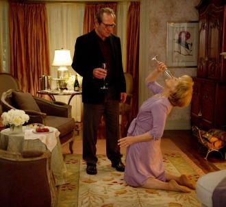 <p>Meryl Streep partage avec Tommy Lee Jones l'affiche de...