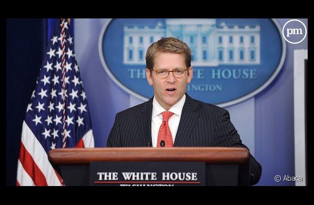 Jay Carney, porte-parole de la Maison Blanche